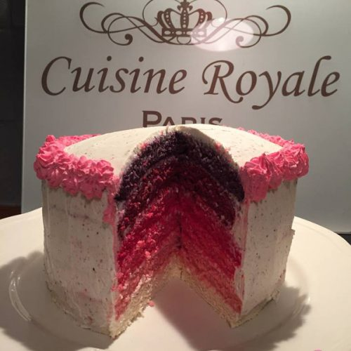 recette rainbow cake