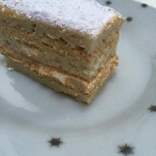 russe gâteau au praliné