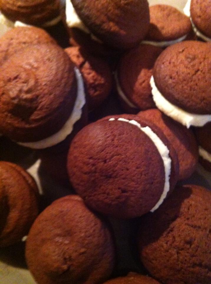 recette des whoopies au chocolat