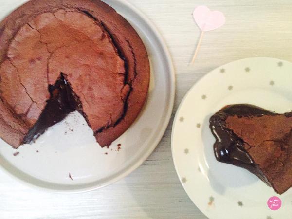 fondant au chocolat recette facile
