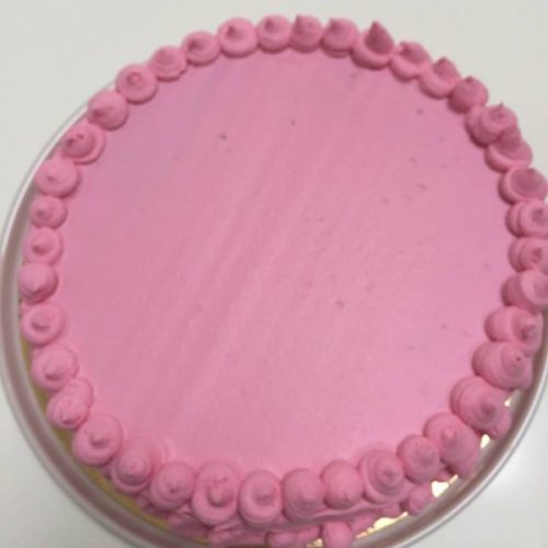 Layer cake fraises et chocolat blanc