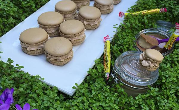 recette des macarons caramélia meringue française