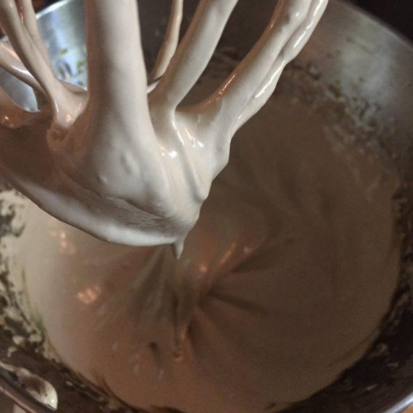 appareil macarons framboise