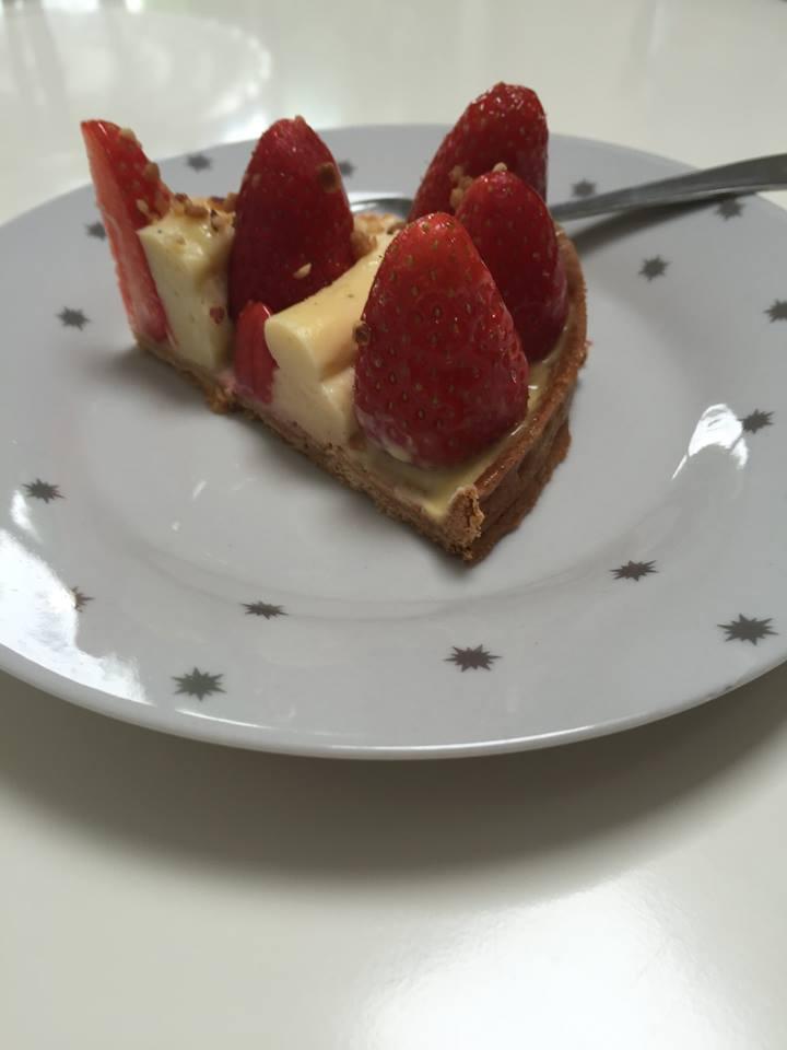Tarte aux fraises vanille tonka - Decoration tarte aux fraises ...