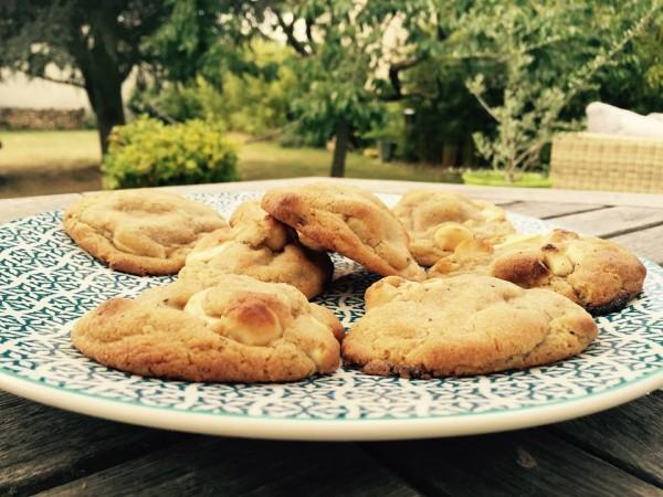 recette de cookies chocolat blanc noix de macadamia
