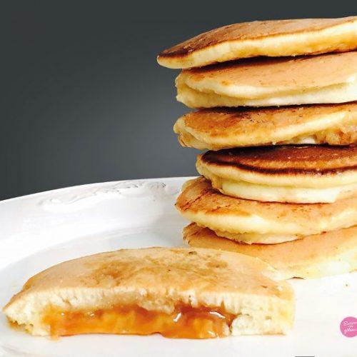 pancakes fourrés caramel beurre salé