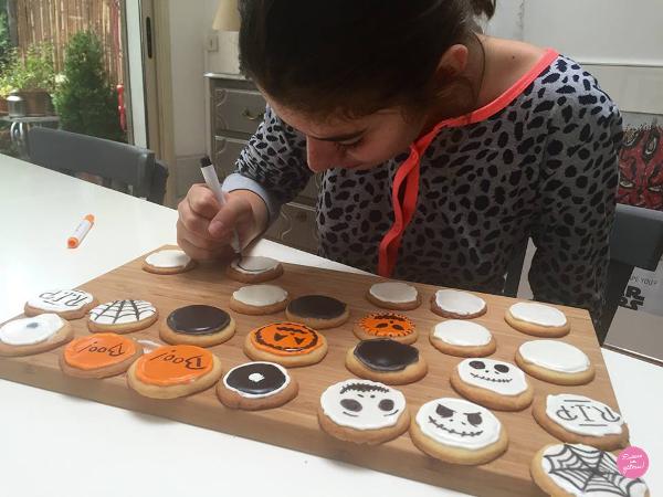 décoration biscuits halloween