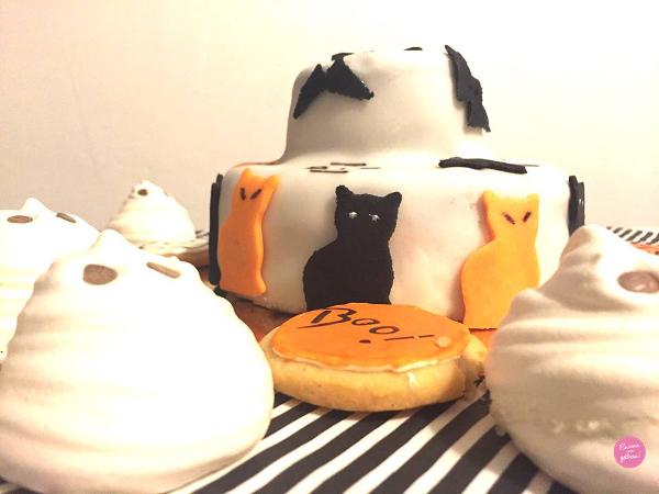 gâteau qui fait peur halloween
