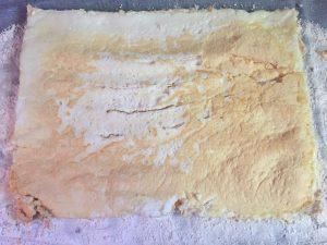 meringue cuite roulé meringué citron myrtilles