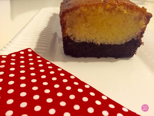 cake vanille et chocolat
