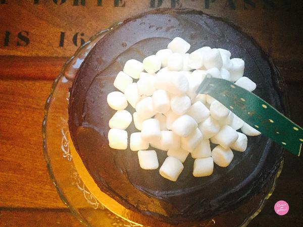 recette layer cake trois chocolats