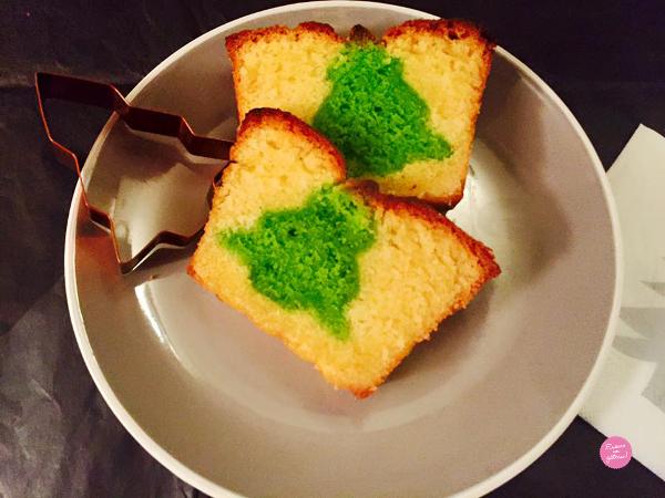 gâteau caché de noël
