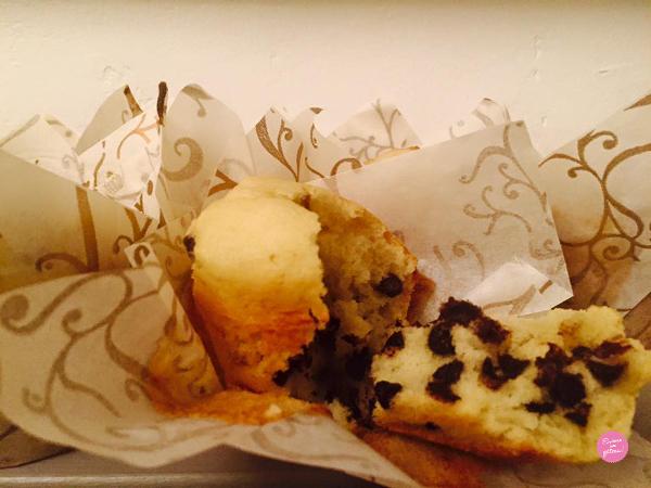 muffins américains pépites de chocolat