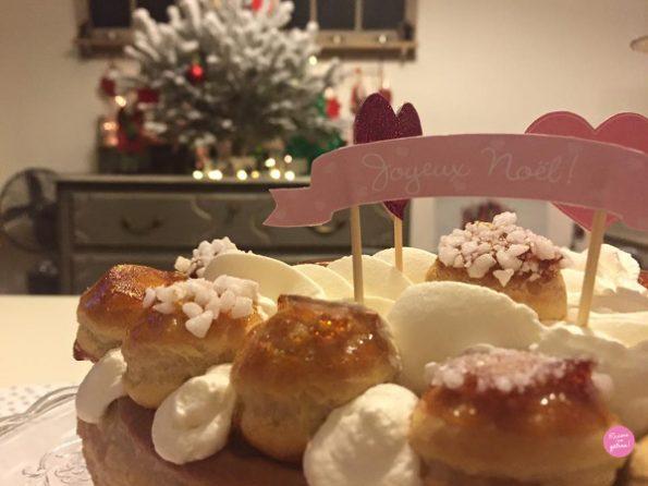 saint honoré caramel Noël