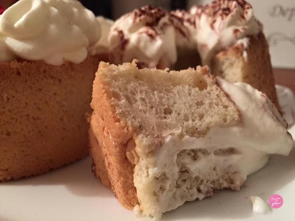 faire des chiffon cakes à la vanille