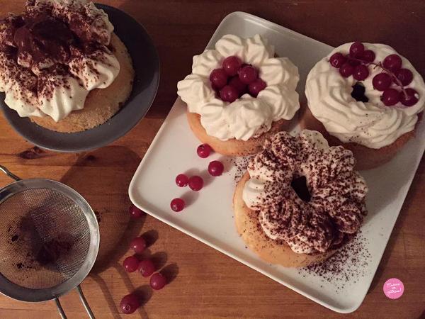 chiffon cakes vanille