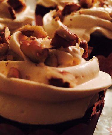 cupcakes chocolat caramel pécan