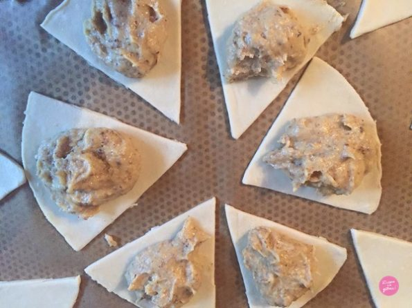 montage galette frangipane noisettes