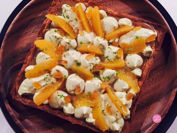 la tarte aux agrumes christophe adam