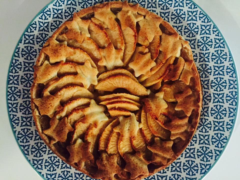 tarte aux pommes façon grand-mère