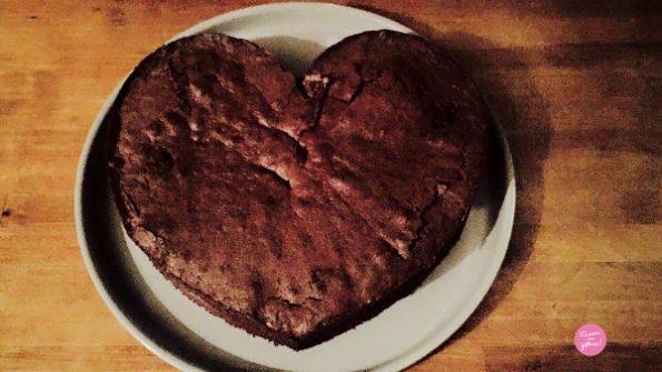 moelleux chocolat joli coeur
