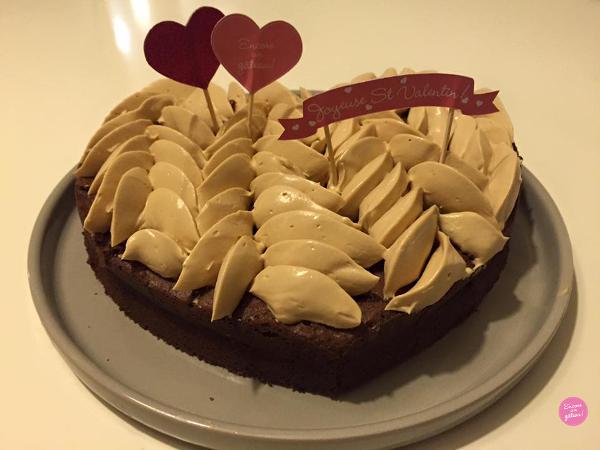 joli coeur moelleux chocolat dulcey