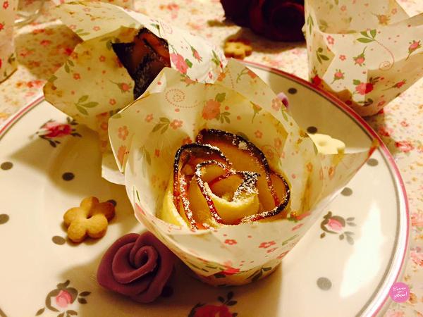pommes roses tartelettes