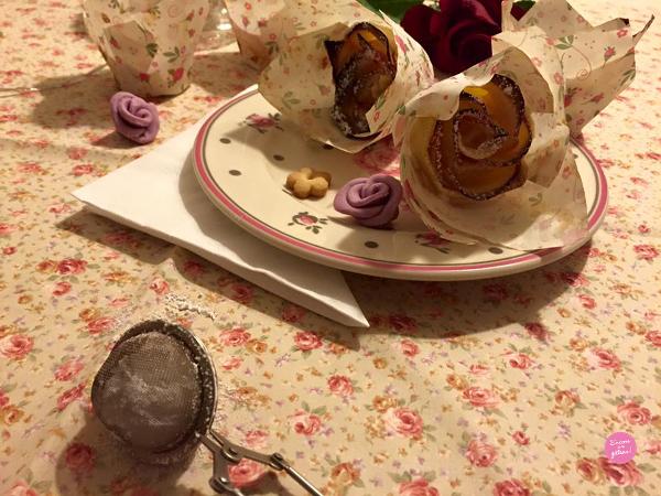 tartelettes pommes roses