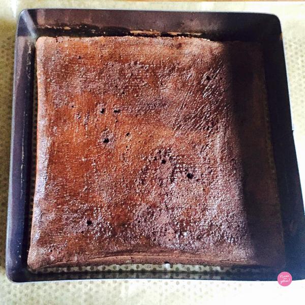 biscuit entremets chocolat café