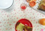 cake oranges sanguines et pavot