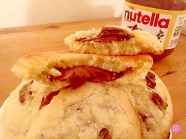 recette de cookies milka et nutella