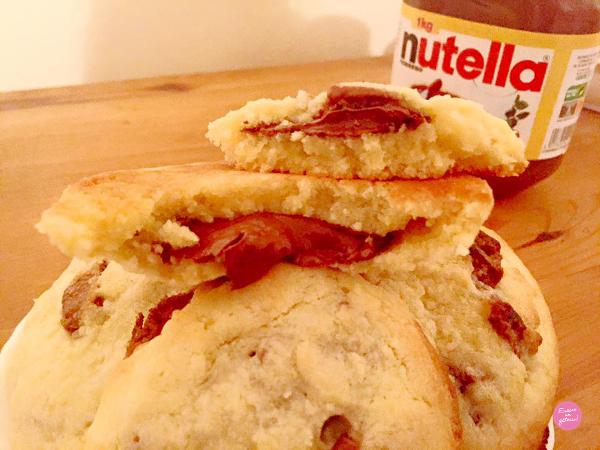 cookies milka nutella