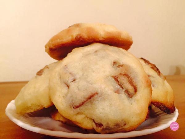 recette facile de cookies milka et nutella