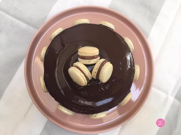 entremets chocolat crème brûlée