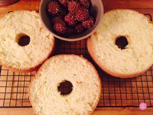 montage layer cake ferrero nutella