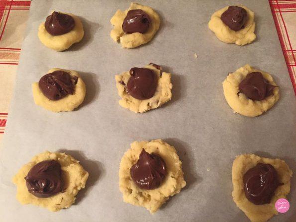 façonnage cookies milka et nutella