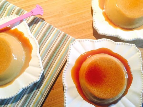 Flan caramel Christophe Adam