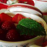 fontainebleau et fruits rouges