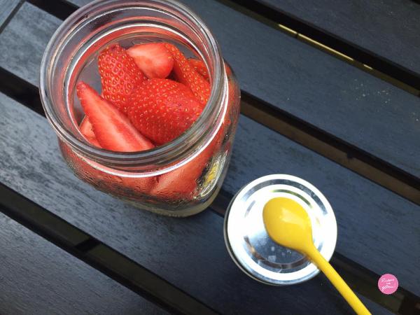 Tapioca fruits rouges