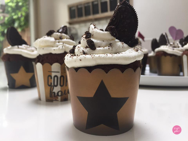 cupcakes oreo