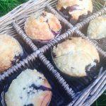 Muffins aux myrtilles pierre hermé