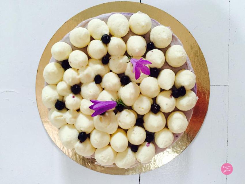 recette cheesecake myrtilles chocolat blanc
