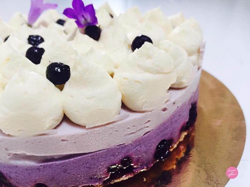 cheesecake myrtilles chocolat blanc