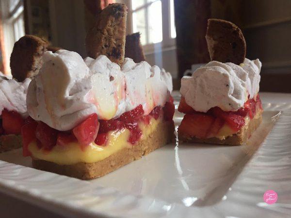tartelettes fraises citron