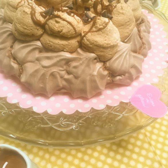 pavlova au chocolat