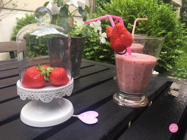 recette smoothie fraises banane myrtilles
