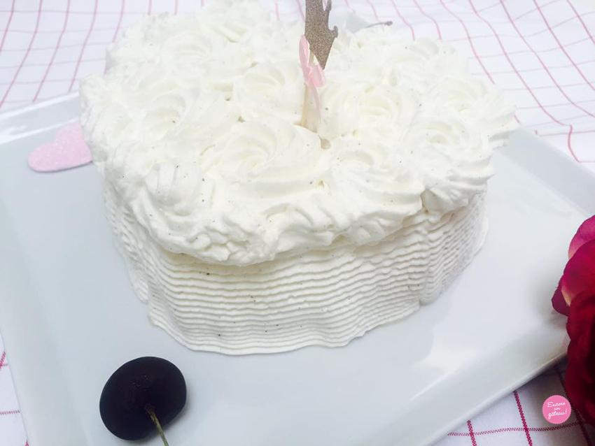 recette de vacherin glacé vanille