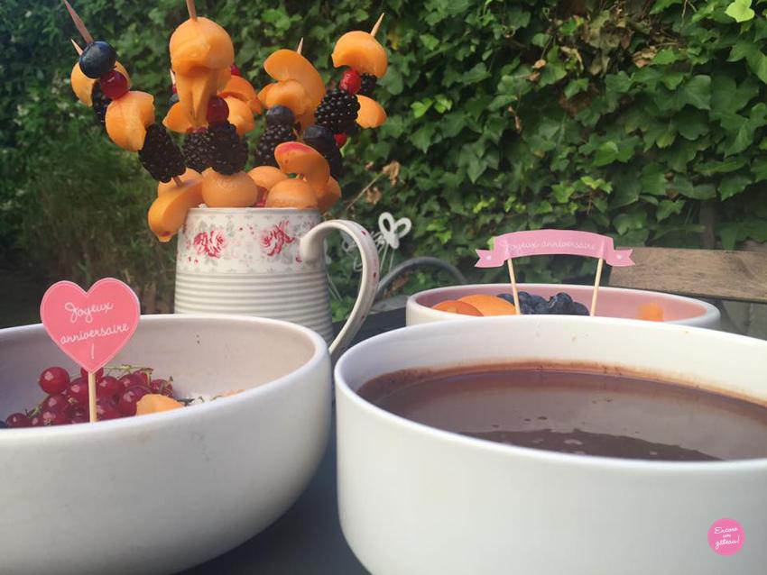 comment faire une fondue au chocolat