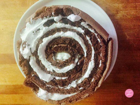 Gâteau roulé vertical