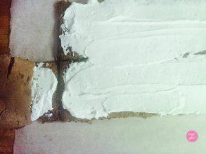 Gâteau roulé vertical montage